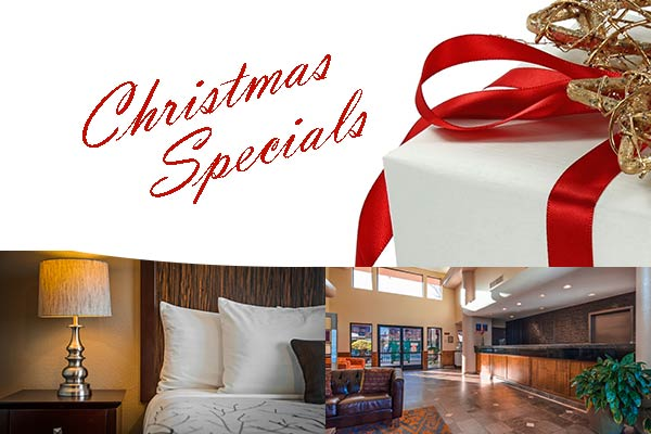 Christmas discount deal for hotel in Roseville CA