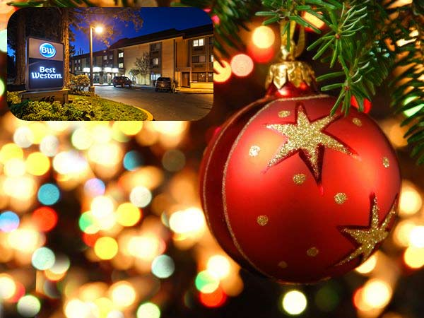 December Weekend special 15 percent off for hotel in Martinez CA