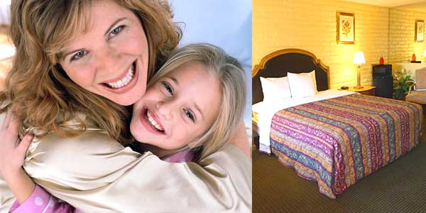 mothers day special 20 percent off for hotel in Roseville CA